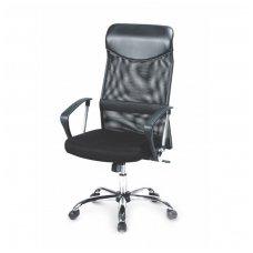 VIRE juoda biuro kėdė su ratukais