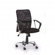 TONY juoda biuro kėdė su ratukais
