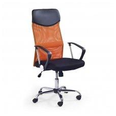 VIRE oranžinė biuro kėdė su ratukais