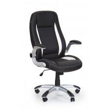 SATURN juoda vadovo biuro kėdė su ratukais