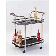 BAR-7 baro staliukas ant ratukų