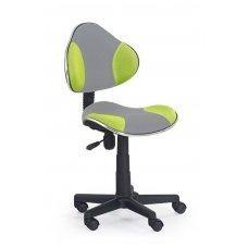 FLASH 2 pilkos / žalios spalvos vaikiška kėdė