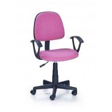 DARIAN BIS rožinė vaikiška kėdė su ratukais