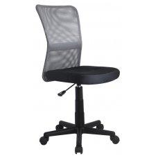 DINGO pilkos / juodos spalvos vaikiška kėdė su ratukais
