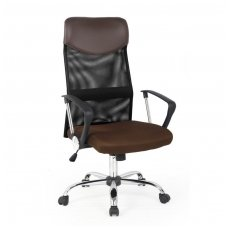 VIRE ruda biuro kėdė su ratukais