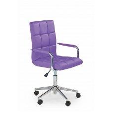 GONZO 2 violetinė vaikiška kėdė su ratukais