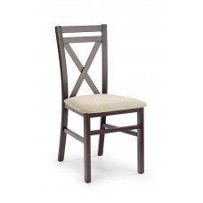 DARIUSZ tamsaus graikinio riešuto spalvos medinė kėdė