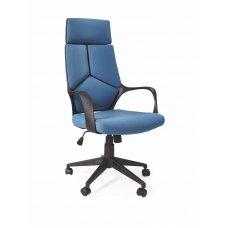 VOYAGER mėlyna vadovo biuro kėdė su ratukais