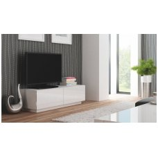 LIVO RTV-160S white standing TV- stand with drawers