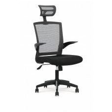 VALOR juoda biuro kėdė su ratukais
