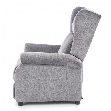 AGUSTIN pilkas fotelis su išskleidžiamu pakoju 11