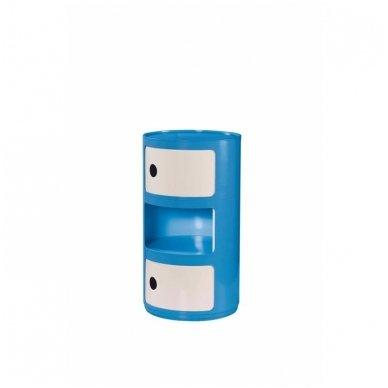 ALF mėlynas stovas su stalčiais 2