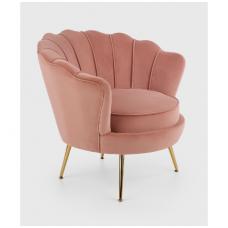 AMORINITO fotelis šviesiai rožinis