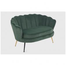 AMORINITO XL tamsiai žalia sofa
