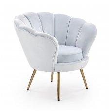 AMORINO light blue soft armchair