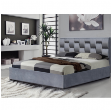 ANNABEL 160 bed with the function of a container gray