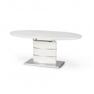 ASPEN ovalus lakuotas išskleidžiamas stalas 2