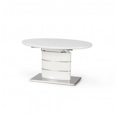 ASPEN ovalus lakuotas išskleidžiamas stalas 3