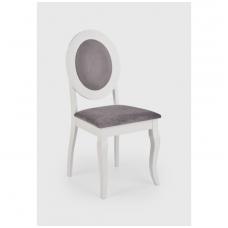 BAROCK balta medinė kėdė