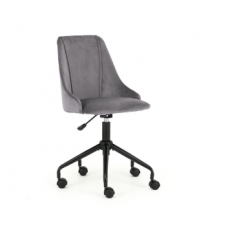 BREAK dark grey children's chair on wheels
