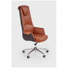 CALVANO dark brown office armchair
