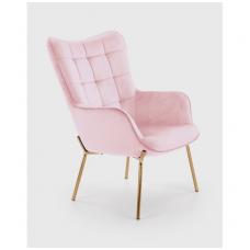 CASTEL 2 fotelis rožinis