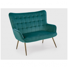 CASTEL 2 XL fotelis  tamsiai žalia