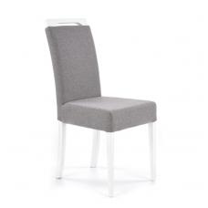 CLARION balta medinė kėdė