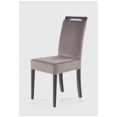CLARION grafito spalvos medinė kėdė