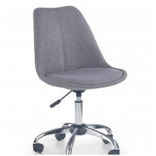 COCO 4 šviesiai pilka vaikiška kėdė su ratukais