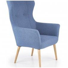 COTTO minkštas mėlynas fotelis