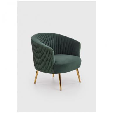 CROWN кресло темно-зеленое