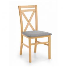 DARIUSZ medaus ąžuolo spalvos medinė kėdė