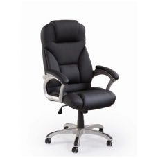 DESMOND black guide office chair on wheels
