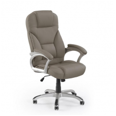 DESMOND grey guide office chair on wheels
