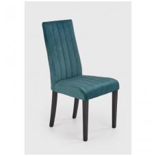 DIEGO 2 tamsiai žalia medinė kėdė