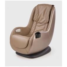 DOPIO fotelis su masažo funkcija smėlio spalvos