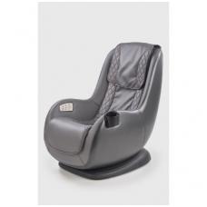 DOPIO pilkas fotelis su masažo funkcija ir USB lizdu