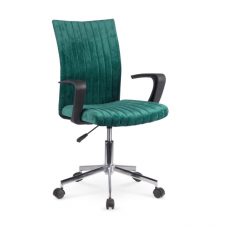 DORAL dark green children's chair on wheels