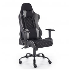 DRAKE black / grey colored guide office chair on wheels