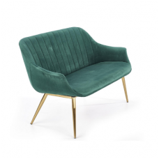 ELEGANCE 2 XL tamsiai žalia minkšta sofa