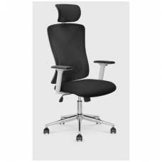 ENRICO black office armchair