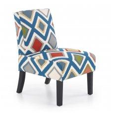 FIDO spalvotas minkštas fotelis