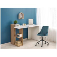 FINO rašomasis stalas su lentynom