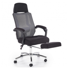 FREEMAN guide office chair on wheels and drop down footrest