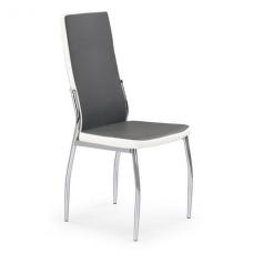 K210 pilkos / baltos spalvos metalinė kėdė