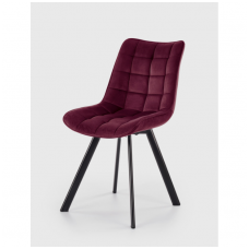 K332 dark red chair