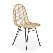 K337 natural rattan / metal chair