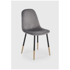 K379 pilka metalinė kėdė