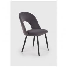 K384 pilka metalinė kėdė